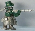 Gnome Wars Northern Americans (Union) Iron Brigade Riflemen Firing