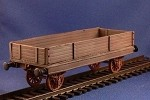 Unarmored train Gondola (complete kit) (1/56th)