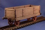 Unarmored train High sides Gondola (complete kit) (1/56th)