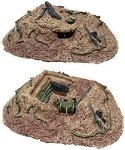 Resin Terrain: Large Enclosed Bunker II