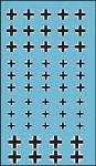 Decals: German Black Cross Markings for tanks and vehicles