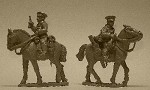 British Cavalry Command (Buglar and Officer)