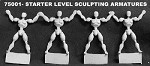 Starter Level Sculpting Armatures (dollies)(4)