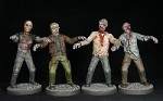 ZP001 - Modern Zombies Plastic Multi-Part Male Plastic Zombies (60)